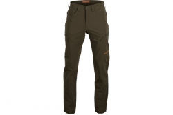 NEW HARKILA TRAIL TROUSERS WILLOW GREEN