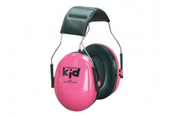 NEW 3 M PELTOR KIDS PINK