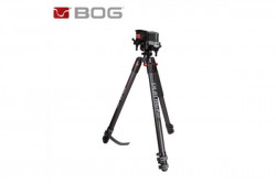 NEW BOG DEATH GRIP CLAMPING CARBON TRIPOD SHOOTING STICK