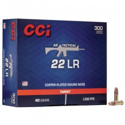 CCI 22 40 GRAIN AR TACTICAL
