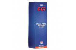CCI SMALL PISTOL PRIMERS NO.500