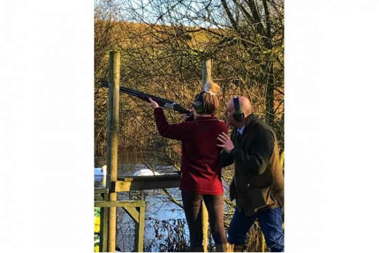 NEW SIMPSON BROTHERS CLAY SHOOTING EXPERIENCE