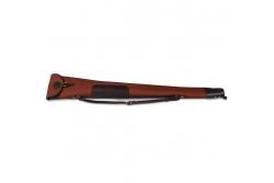 CROOTS ROSEDALE SHOTGUN SLIP WITH FLAP AND ZIP FOX TAN