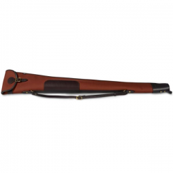 CROOTS ROSEDALE SHOTGUN SLIP WITH FLAP AND ZIP FOX TAN