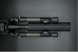 NEW TIER ONE EVOLUTION BIPOD CARBON 180MM PICATINNY
