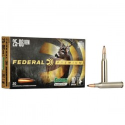 FEDERAL 25-06 117 GRAIN GAMEKING