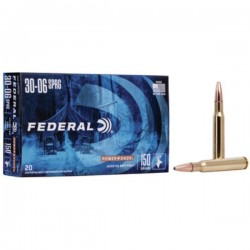 FEDERAL 30-06 SPRINGFIELD 150 GRAIN SOFT POINT