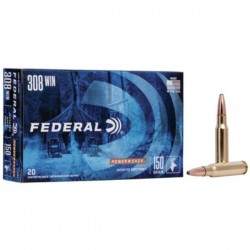 FEDERAL 308 WIN 150 GRAIN SOFT POINT
