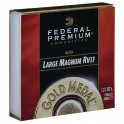 FEDERAL LARGE MAGNUM RIFLE MATCH PRIMERS 215M