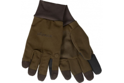 HARKILA RETRIEVE GLOVES DARK WARM OLIVE