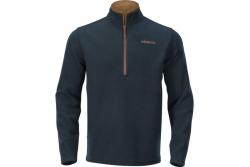 HARKILA SANDHEM FLEECE PULLOVER DARK NAVY
