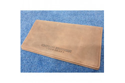 SIMPSON BROTHERS DOUBLE LEATHER CERTIFICATE WALLET