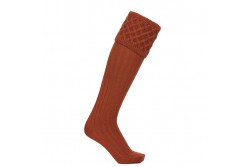 LAKSEN WINDSOR SOCK RUSTY
